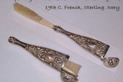 Sterling ivory travelling toothbrush