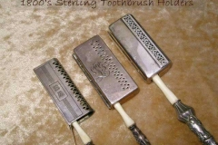 Sterling travelling toothbrush holders
