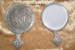 19 th C. Personal oral hygiene mirror