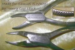 SSW  for Henry Coy Forceps 1867