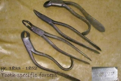Early  Anatomic Forceps mid 1800s