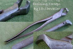 Excising forceps by Chevalier