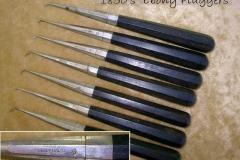 Deeley-Baltof-ebony gold foil pluggers 19C