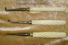 Turned Ivory-preventive dentistry ca.1700