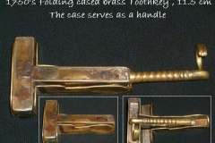 Very rare Folding Brass Key
