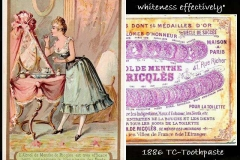 Toothpaste add 19th C