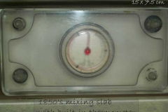 Mixing Slab with thermometer